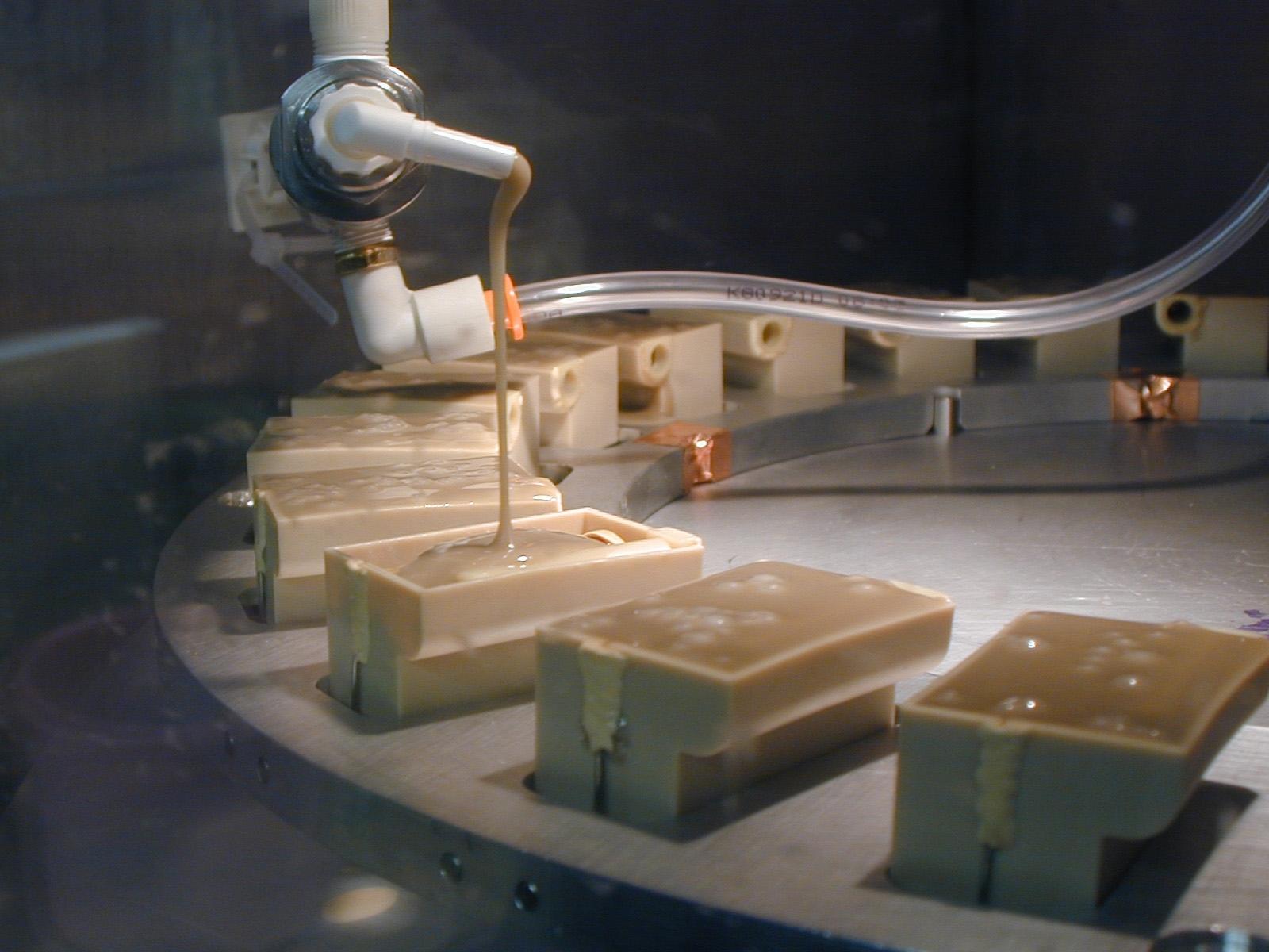 Vacuum Potting Meter Mix Dispense Equipment
