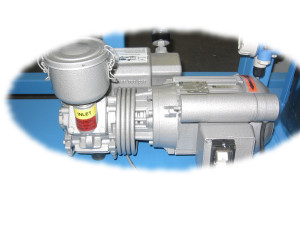On-Board Vacuum Pump is an Integral Part of the Design